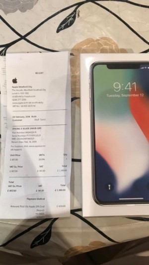 Brand new iphone X - willing to do trades