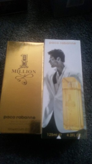 Men's Paco Rabanne One Million 100ml