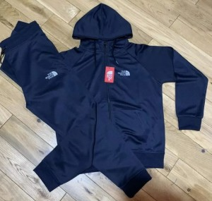 North Face/ Dark Blue tracksuit- M/L