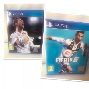 FIFA18&19 PS4 Game