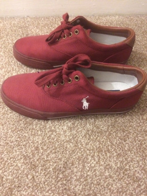 Ralph Lauren Size 8 trainers perfect condition
