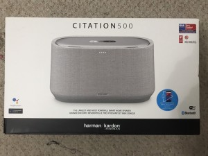 Harman Kardan Citation 500 Bluetooth speakers