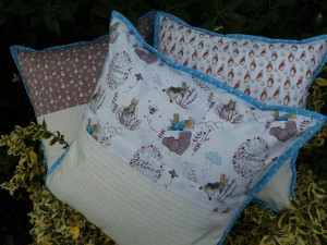 Peter rabbit cushions