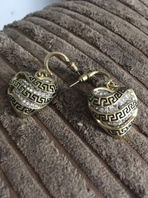 Woman's beautiful earrings
