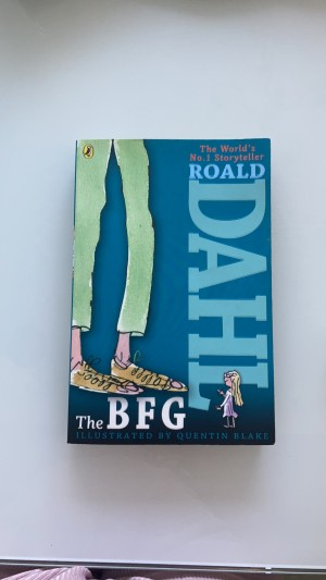 This is the BFG. It is a A4 paperback Rould Dahl book.