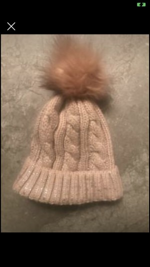 Miss Sparrow Pastel Pink Wool Hat Worn Once One Size Fits All